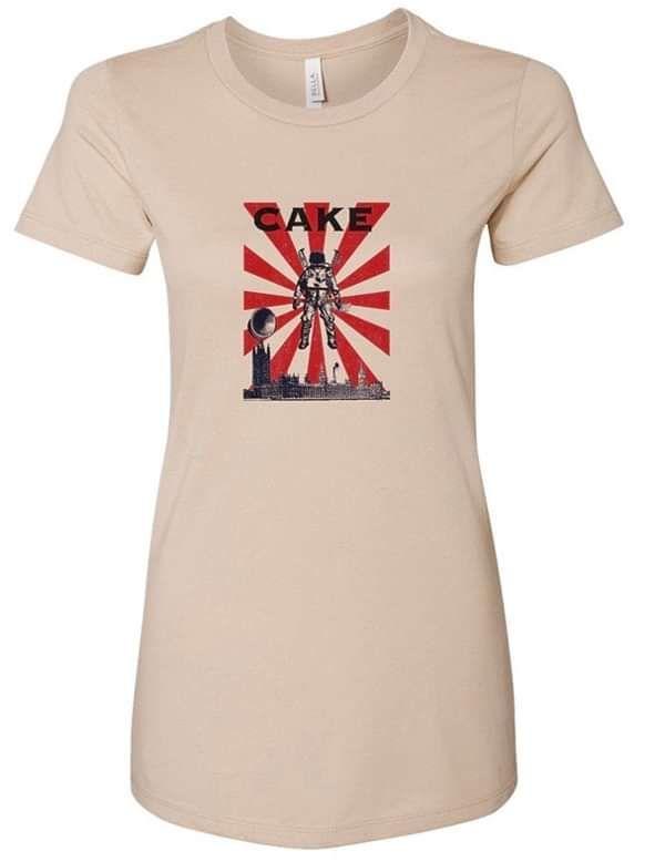 Ladies UK Tour Shirt - CAKE