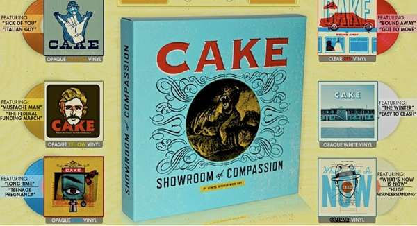 "Showroom of Compassion 7"" Vinyl Box Set - CAKE"