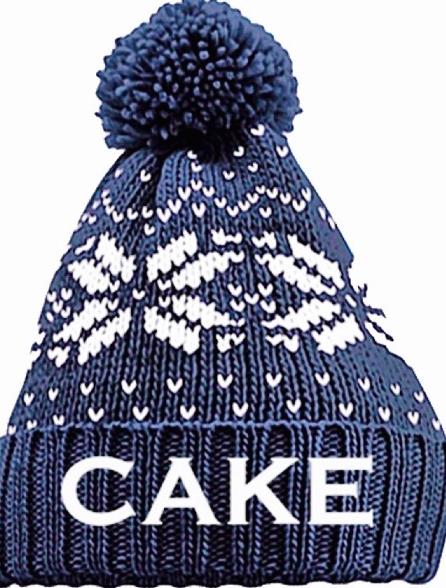 Snowflake Knit Cap - CAKE