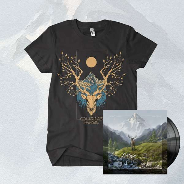 Caligula's Horse - 'Rise Radiant' Black 2LP + CD + T-Shirt Bundle - Caligula's Horse