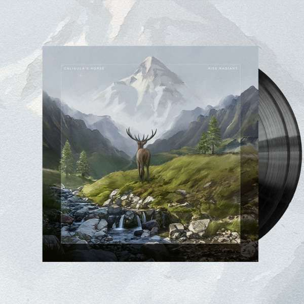 Caligula's Horse - 'Rise Radiant' Black 2LP + CD - Caligula's Horse