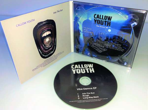 Callow Youth - Vibe Demos EP CD - Callow Youth