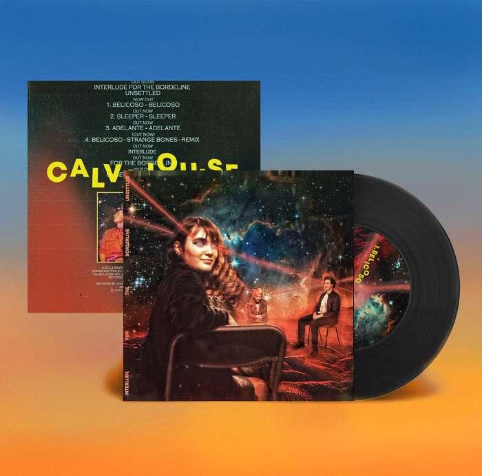 Interlude For The Borderline Unsettled EP 7'' - Calva Louise
