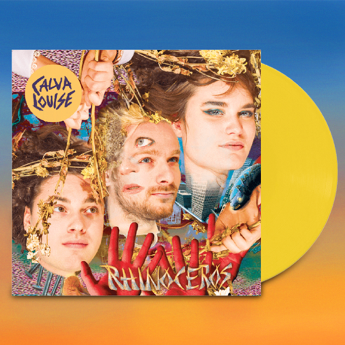 Rhinoceros Album Coloured Vinyl - Calva Louise