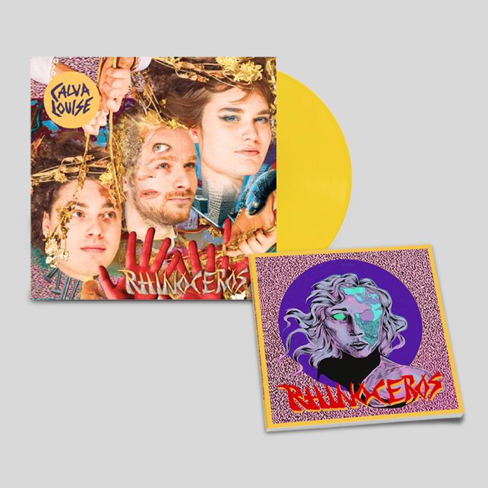 Signed Vinyl + Signed Comic/Lyric Book - Calva Louise