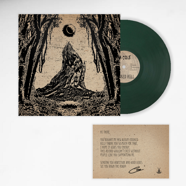 Crooked Hill Green Vinyl Limited Edition - Ships 20th of September! - Cam Cole USA & Canada Store