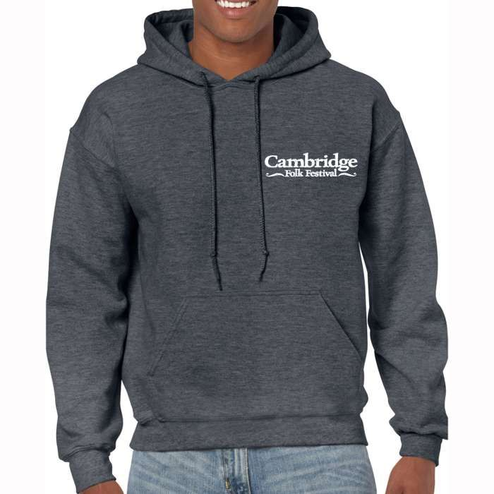 Cambridge Folk Hoodie (Dark Heather) - Cambridge Folk Festival
