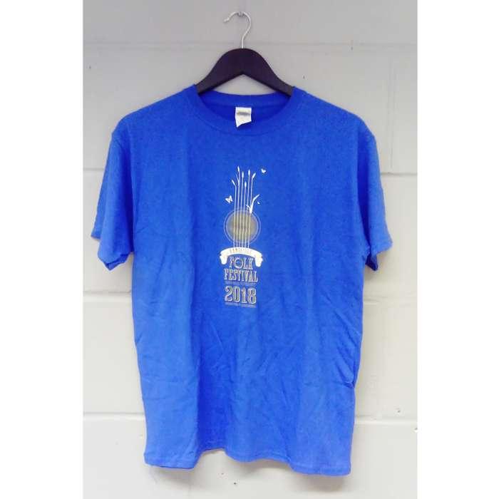 Children's Cambridge Folk T-shirt (Blue) - Cambridge Folk Festival