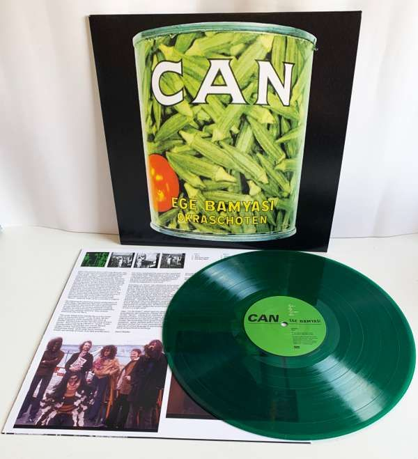 Can - Ege Bamyasi Limited Edition Green LP - Can