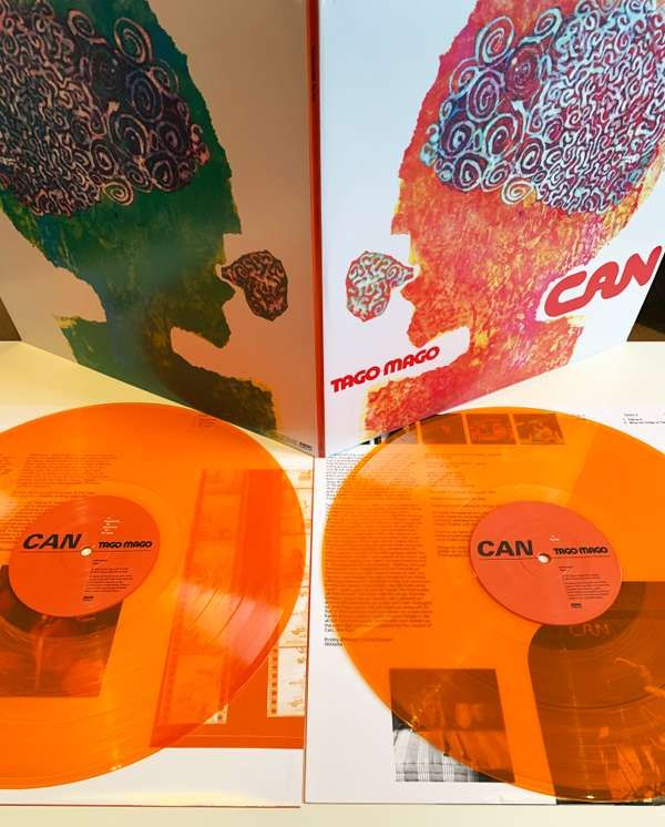 Can - Tago Mago Limited Edition Orange LP - Can