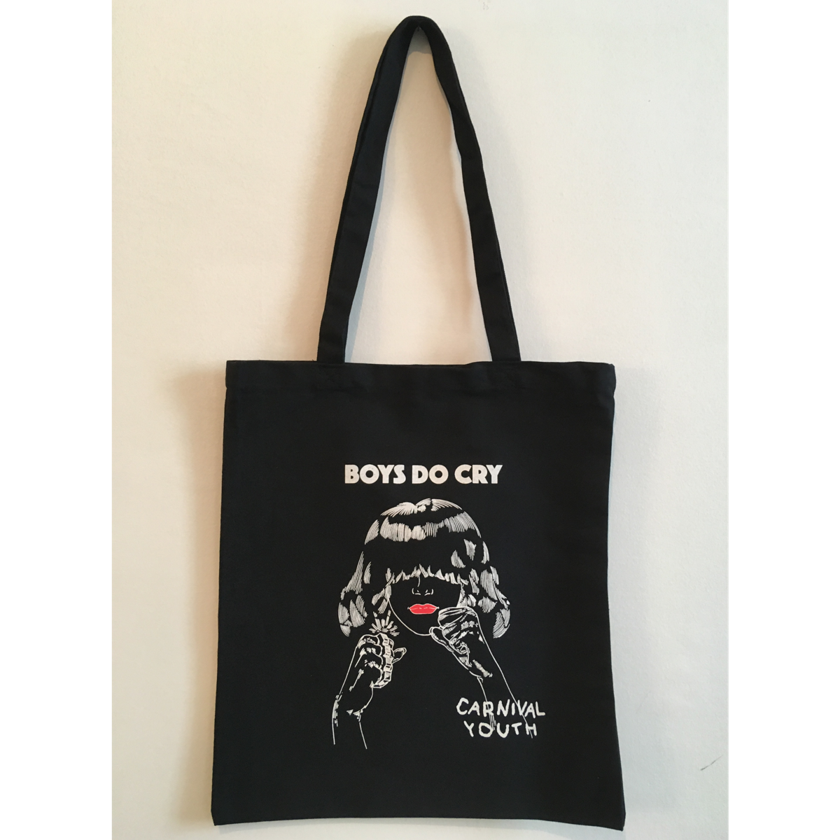 Boys Do Cry Tote Bag - Carnival Youth