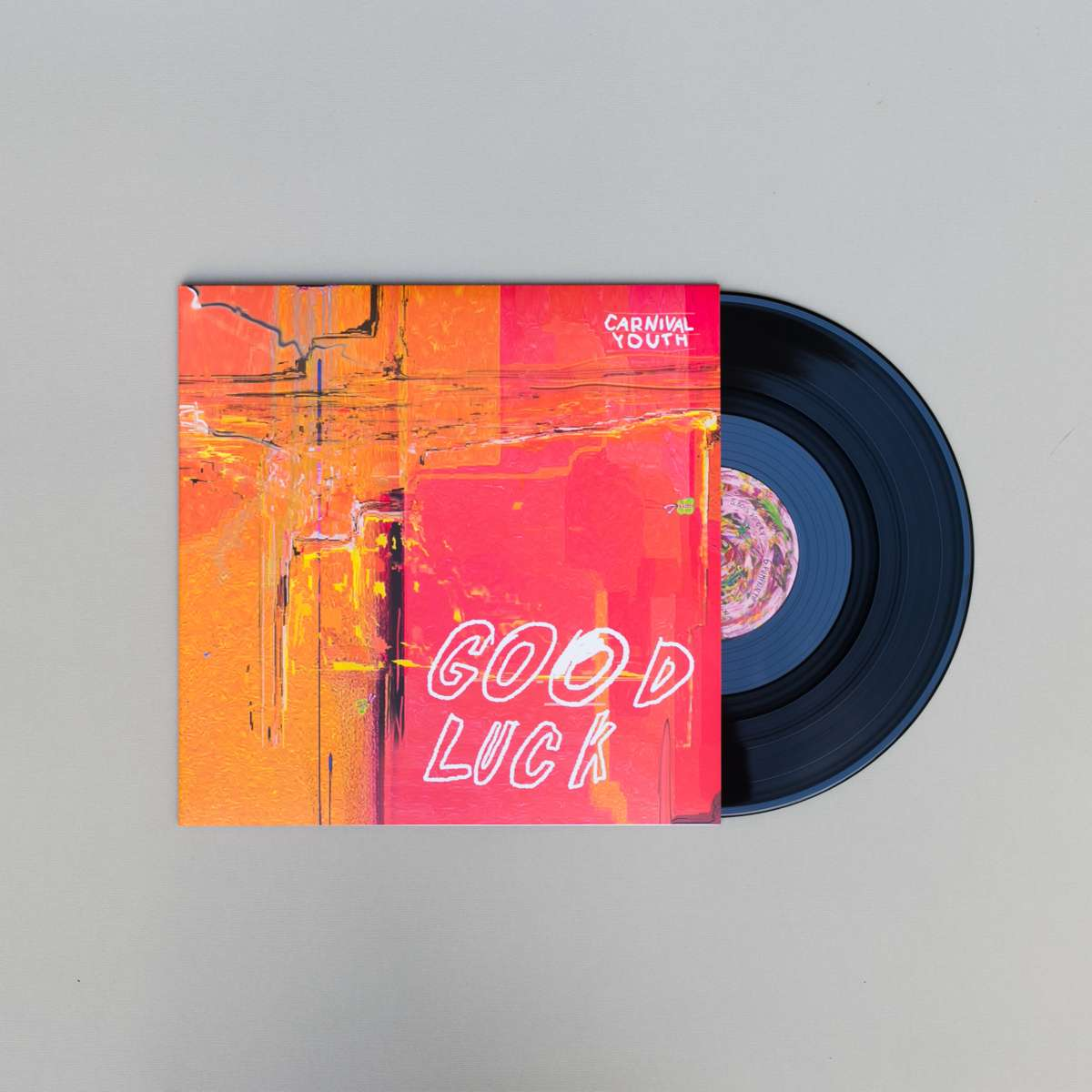 """Good Luck Limited Edition 12"""" Double Vinyl - Carnival Youth"""