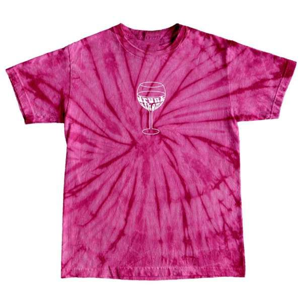 Drunk at home Tie Dye (pink)  - SOLD OUT - Casey Lowry