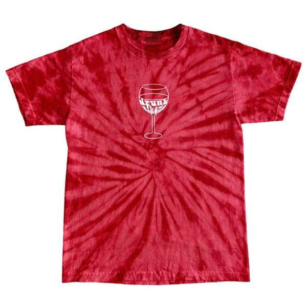 Drunk at home Tie Dye (red) - SOLD OUT - Casey Lowry