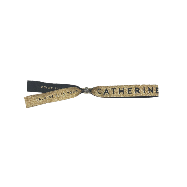 Talk Of This Town Wristband - Catherine McGrath