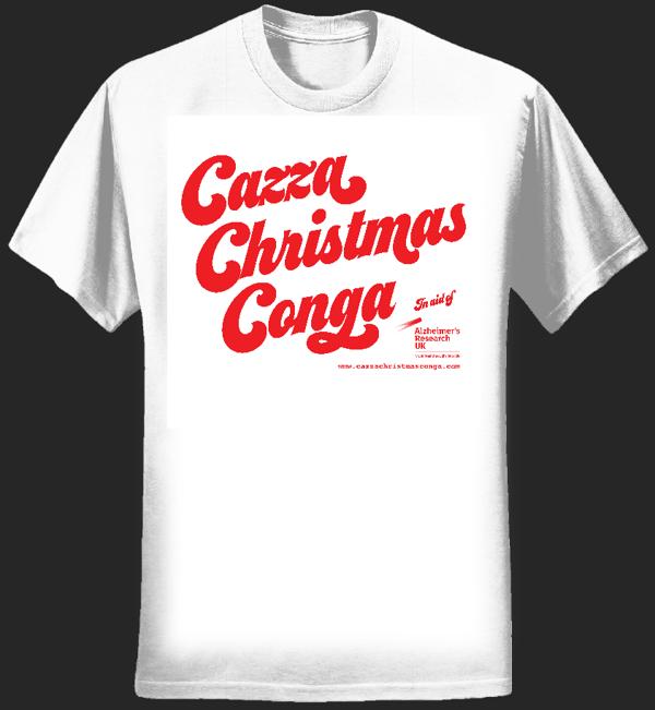 Ladies Cazza Christmas Conga tee - Cazza