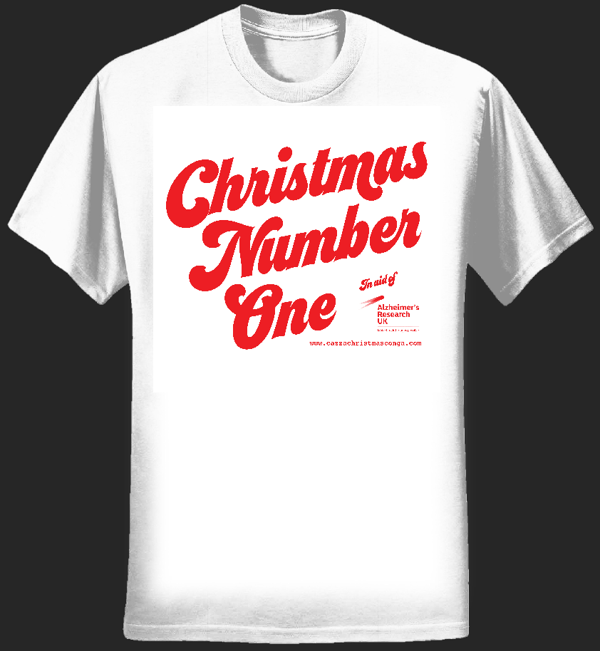Ladies Christmas Number One tee - Cazza