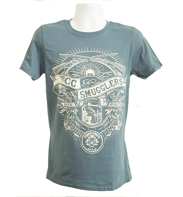 Blue 'Traditional' T-Shirt - CC Smugglers