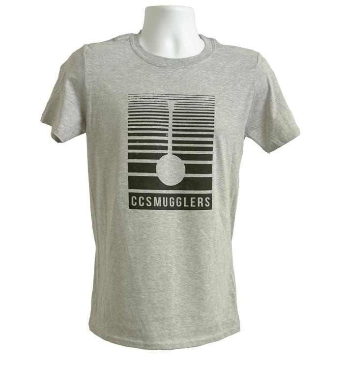 Grey 'Banjo' T-Shirt - CC Smugglers