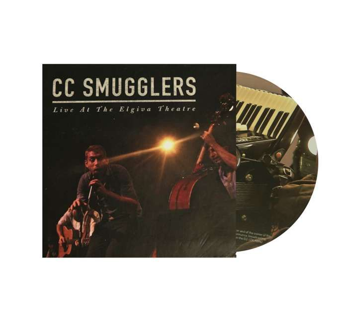 'Live at the Elgiva Theatre' (CD) - CC Smugglers