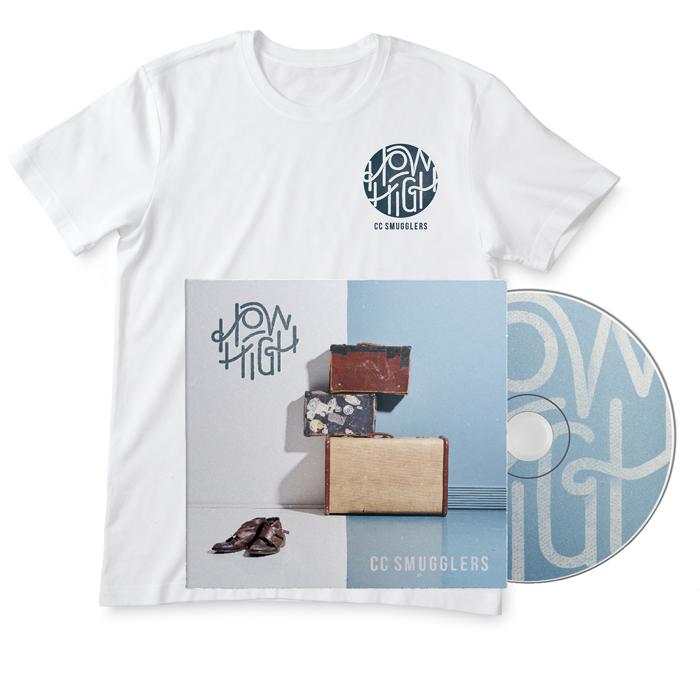 Signed CD & T-Shirt - CC Smugglers
