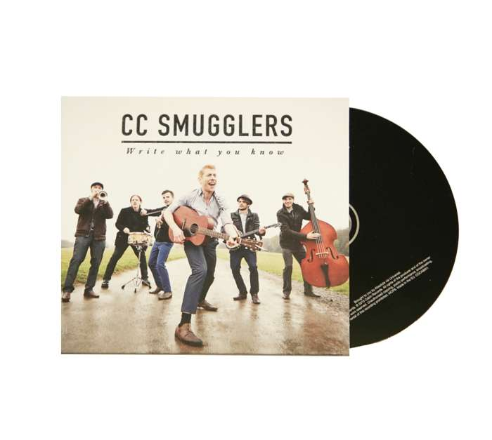 'Write What You Know' (Signed CD) - CC Smugglers