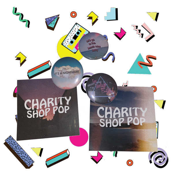 Badge/Sticker Pack - charityshoppop