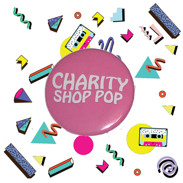 Pink Badge - charityshoppop