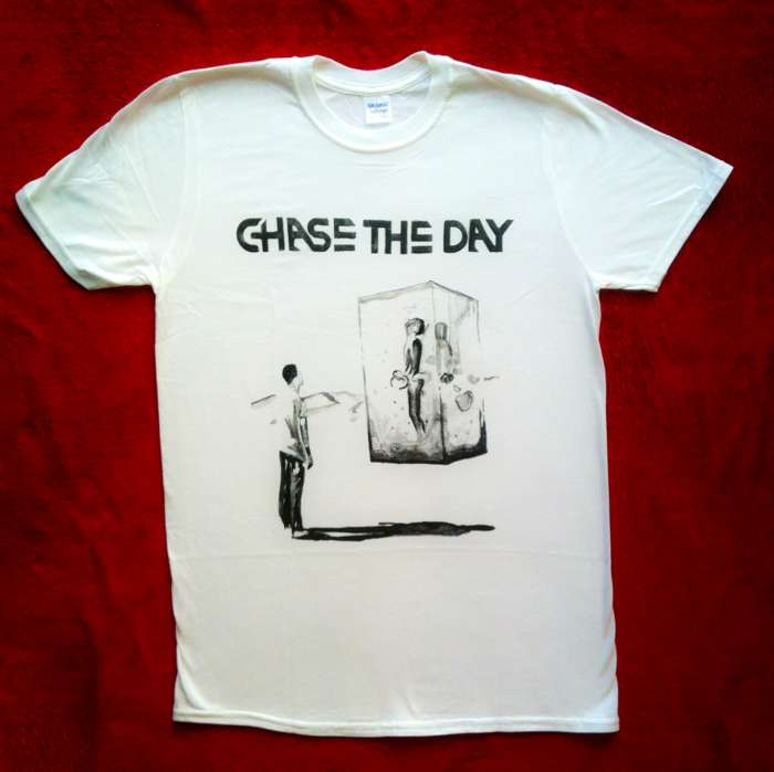 'Tabula Rasa' T Shirt - White - Chase the Day