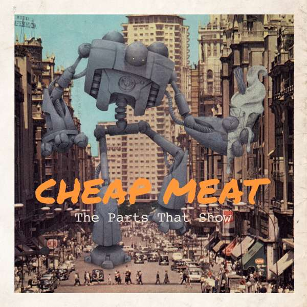 The Parts That Show EP - CD - Cheap Meat