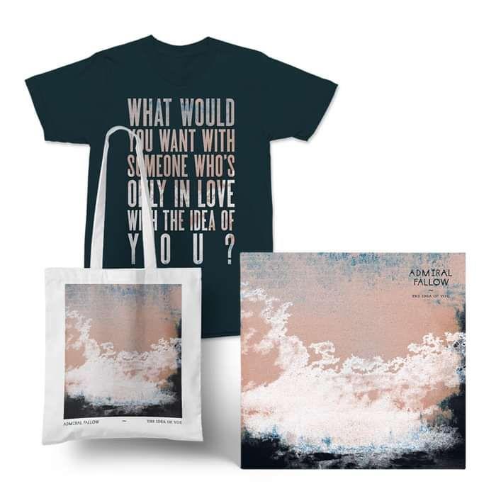 Admiral Fallow - CD Album + T-Shirt + Tote Bag (PRE-ORDER NOW) - Admiral Fallow
