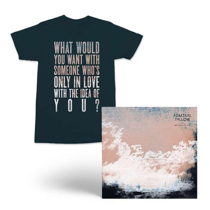 Admiral Fallow - CD Album + T-Shirt (PRE-ORDER NOW) - Admiral Fallow