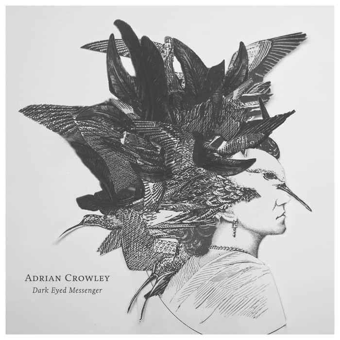 Adrian Crowley - Dark Eyed Messenger - Deluxe Vinyl (2017) - Adrian Crowley