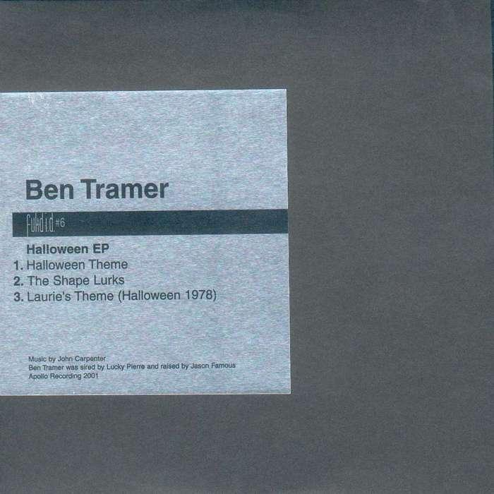 "Ben Tramer: Fukd ID #6 - ""Halloween EP"" - CD EP (2001) - Aidan Moffat"