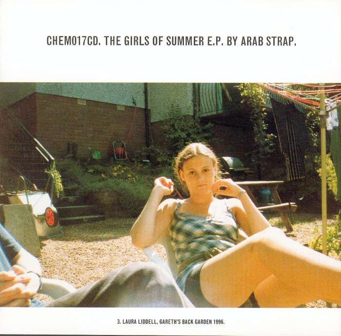 Arab Strap - Girls Of Summer - Digital Single (1997) - Arab Strap