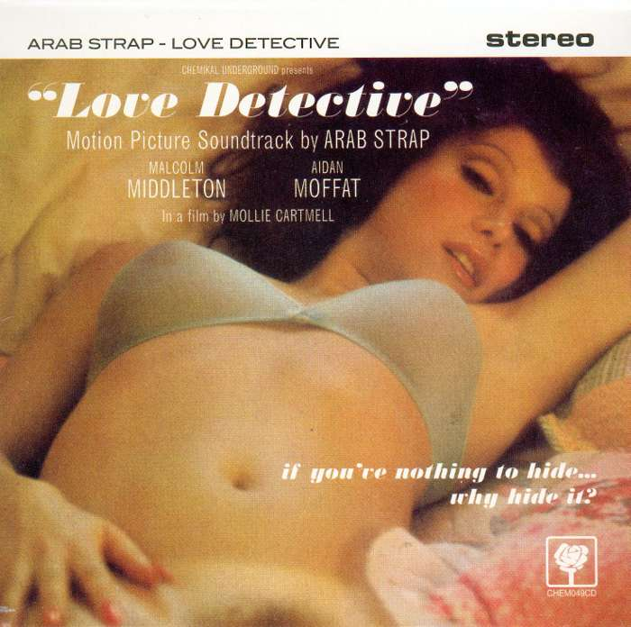 Arab Strap - Love Detective - Digital Single (2001) - Arab Strap