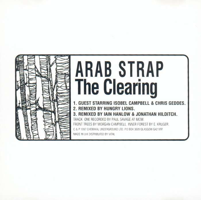 Arab Strap - The Clearing - Digital Single (1997) - Arab Strap