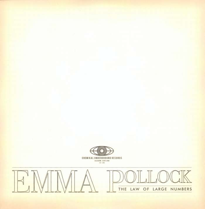Emma Pollock - The Law Of Large Numbers - Digital Album (2010) - Emma Pollock