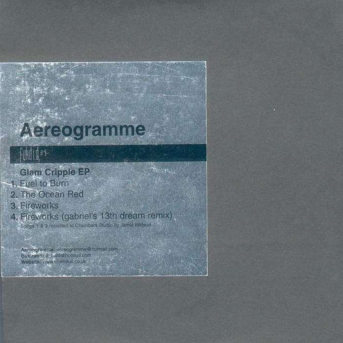 """Fukd ID #1 - Aereogramme """"Glam Cripple EP"""" - Digital EP (2000) - Fukd ID Series"""