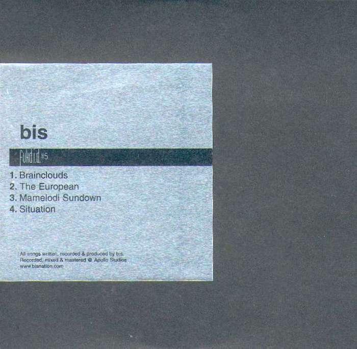 Fukd ID #5 - bis - Digital EP (2001) - Fukd ID Series