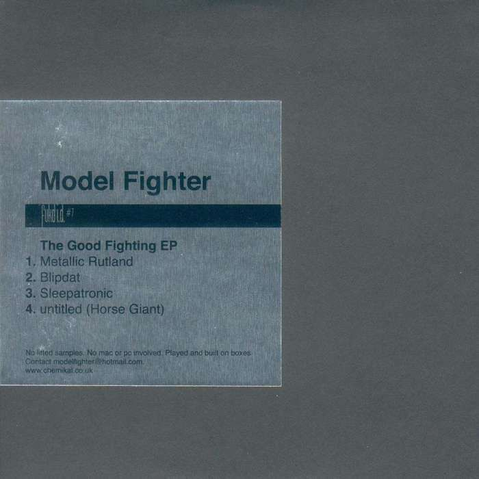 "Fukd ID #7 - Model Fighter ""The Good Fighting EP"" - CD EP (2003) - Fukd ID Series"