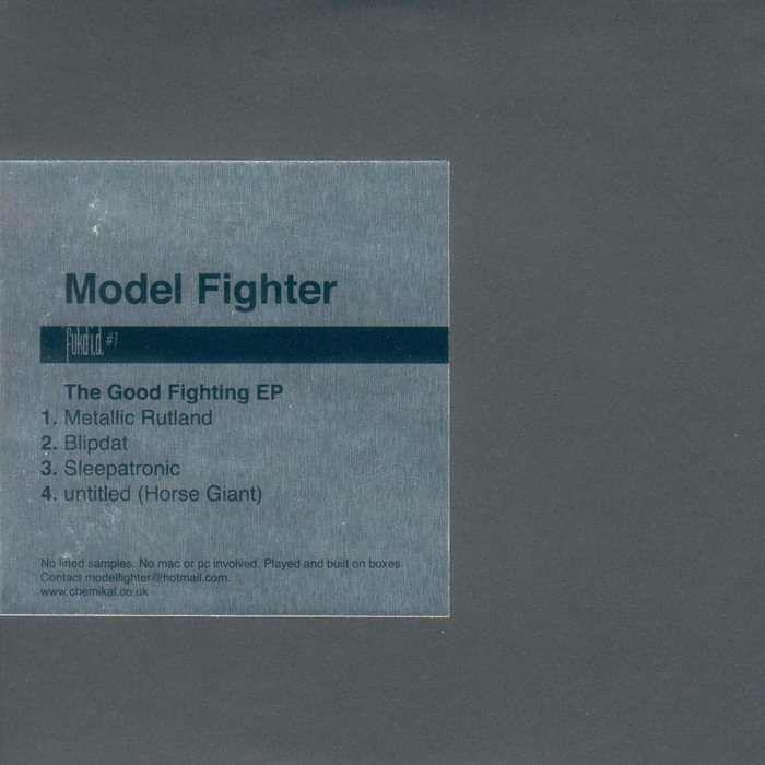 "Fukd ID #7 - Model Fighter ""The Good Fighting EP"" - CD EP (2003) - Fukd ID Series"