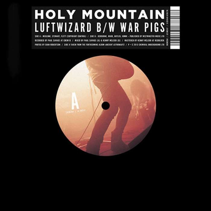 "Holy Mountain - Luftwizard - 7"" Single (2013) - Holy Mountain"