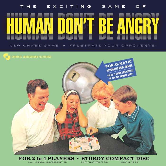 Human Don't Be Angry - Human Don't Be Angry - CD Album (2012) - Human Don't Be Angry
