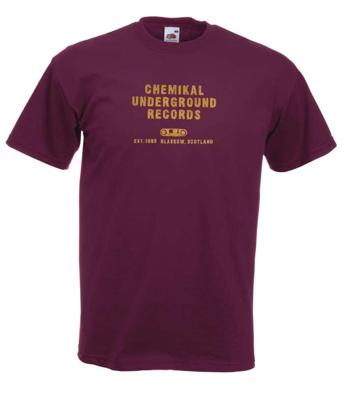 Chemikal Underground 'Cassette' T-Shirt - Chemikal Merch