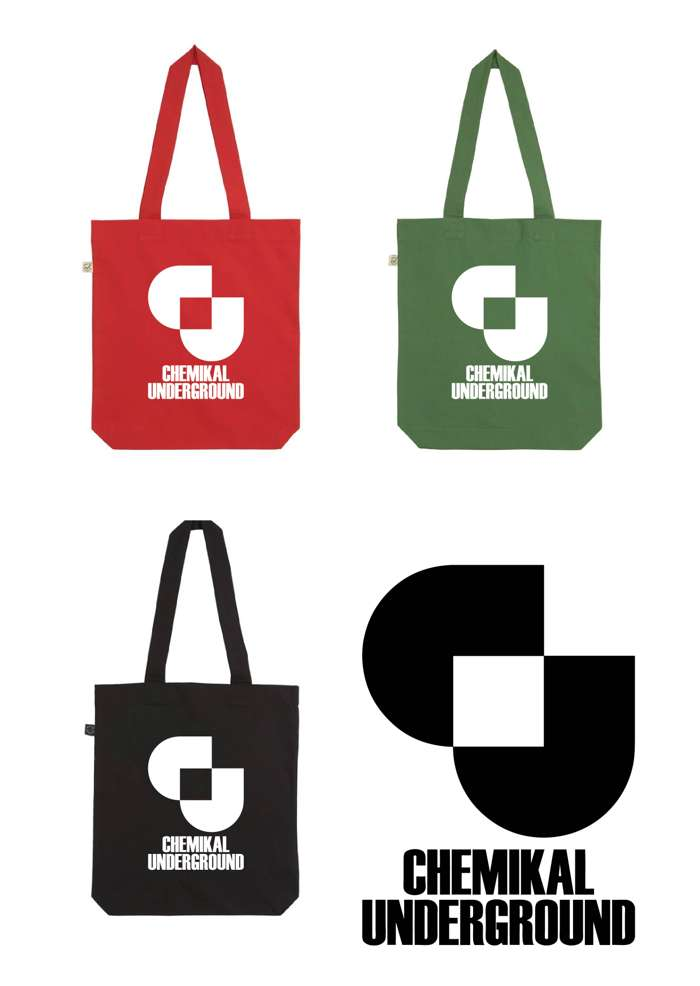 Chemikal Underground Tote Bags - Chemikal Merch