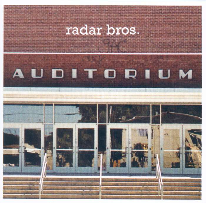 Radar Bros. - Auditurium - CD (2008) - Radar Bros.