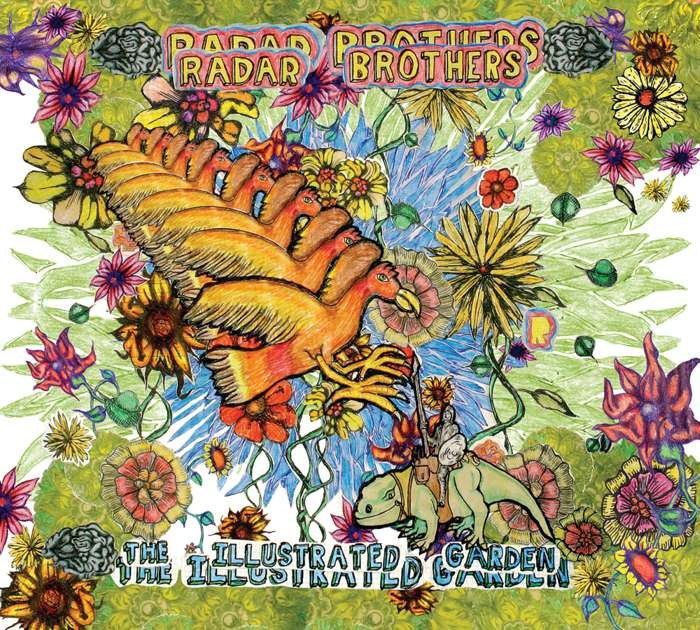 Radar Brothers - The Illustrated Garden - CD Album (2010) - Radar Bros.