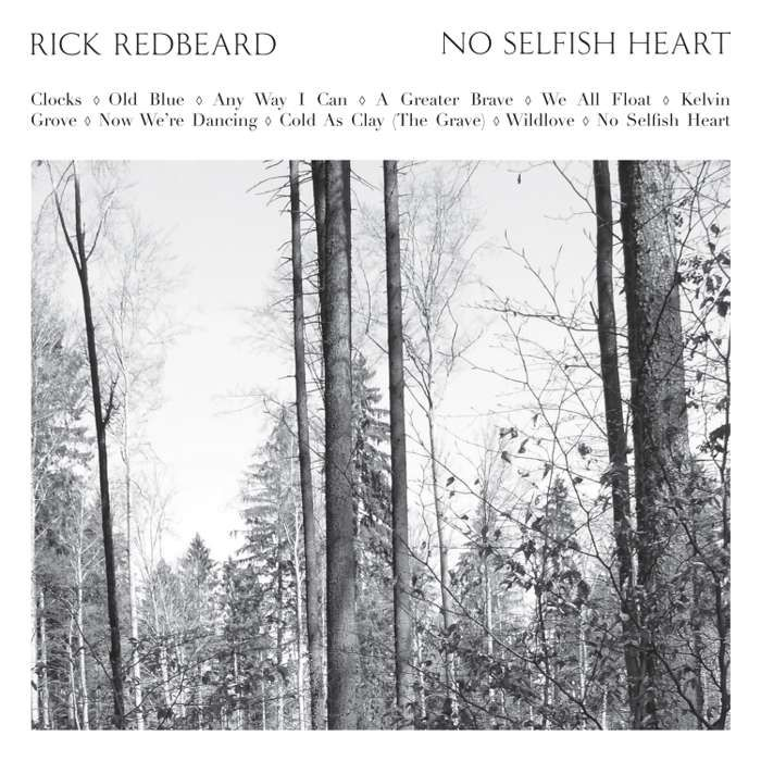 Rick Redbeard - No Selfish Heart - CD Album (2013) - Rick Redbeard