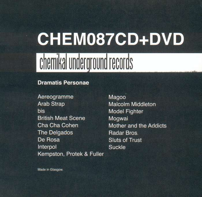 Various - CHEM087CD+DVD - CD Album & DVD (2006) - Various